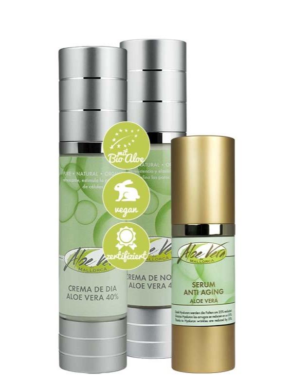 Aloe Vera Anti Aging Set