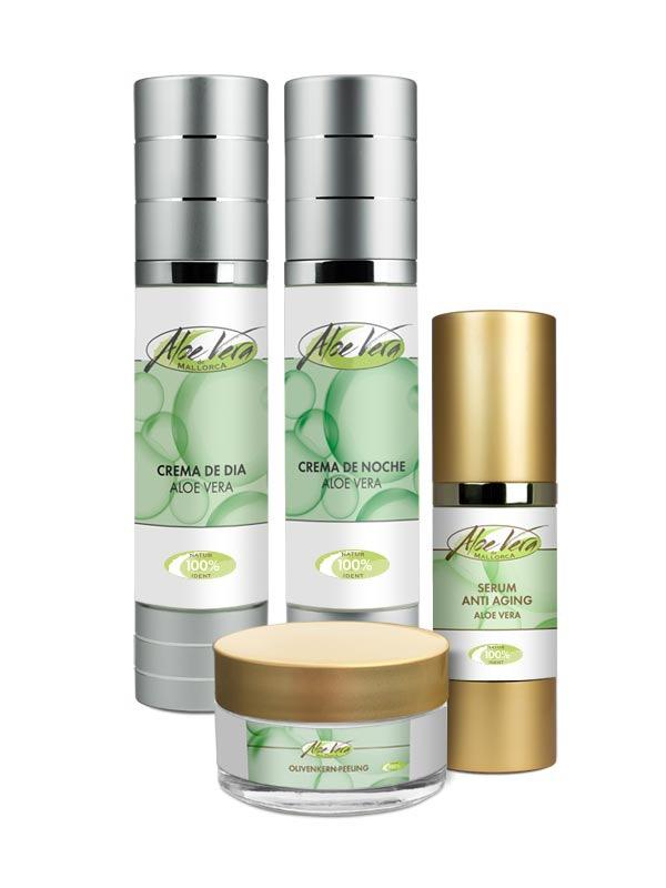 Aloe Vera Anti Aging Set   Naturkosmetik